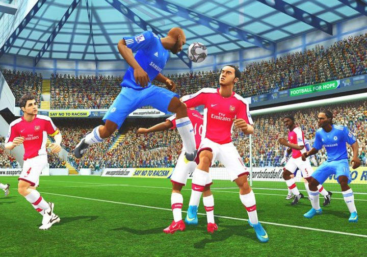 Screenshot de FIFA 10