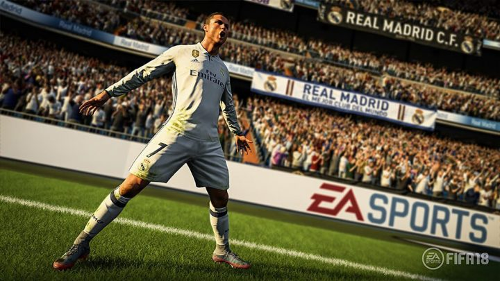 Screenshot de FIFA 18