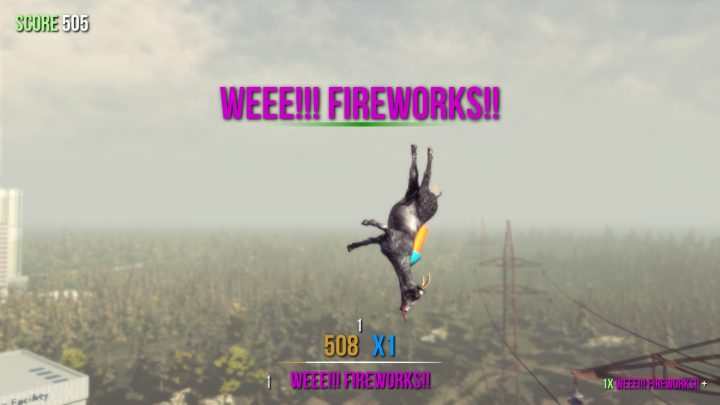 Screenshot de Goat Simulator
