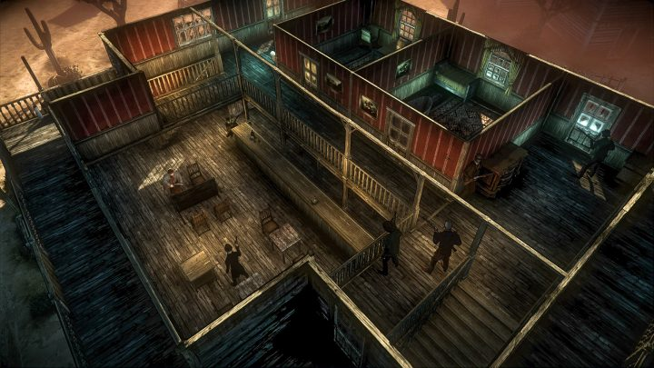 Screenshot de Hard West