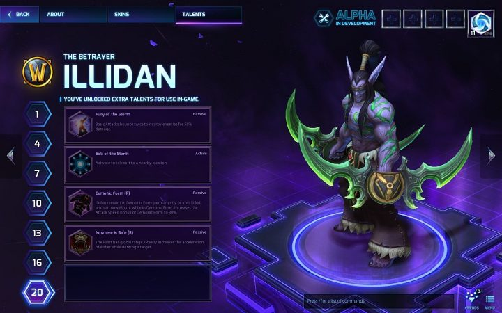 Screenshot de Heroes of the Storm