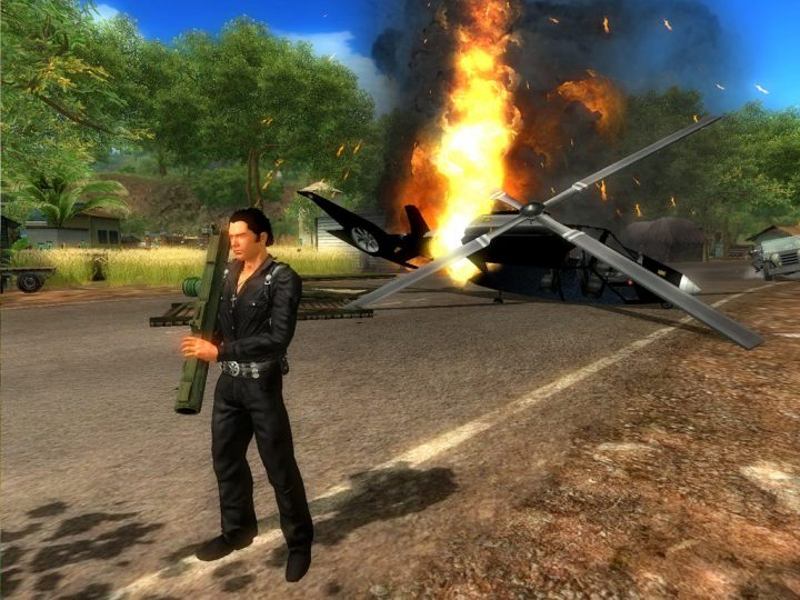 Screenshot de Just Cause