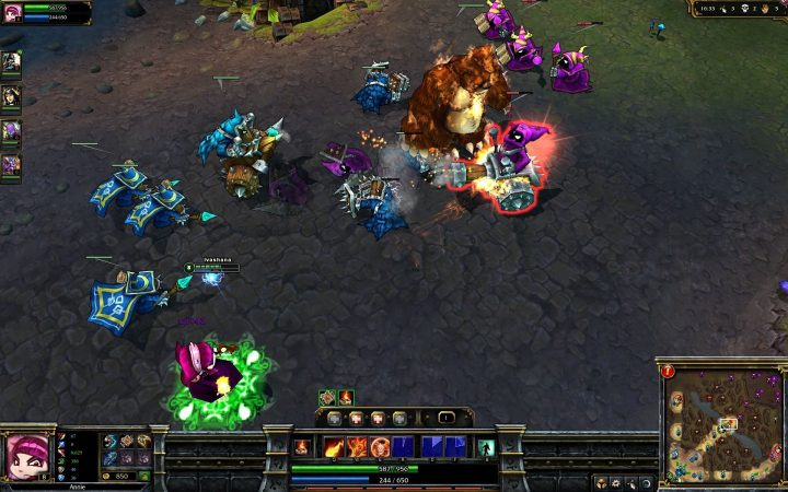Screenshot de League of Legends