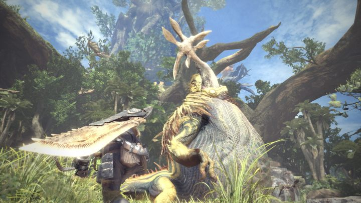 Screenshot de Monster Hunter : World