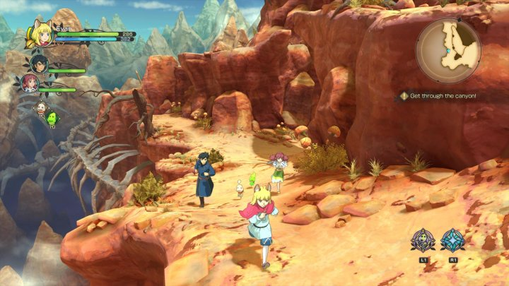 Screenshot de Ni no Kuni  II : Revenant Kingdom