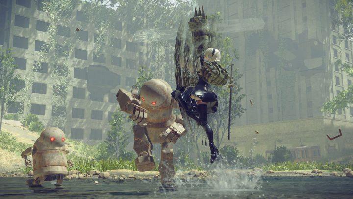 Screenshot de NieR : Automata