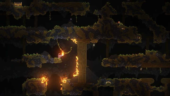 Screenshot de Noita