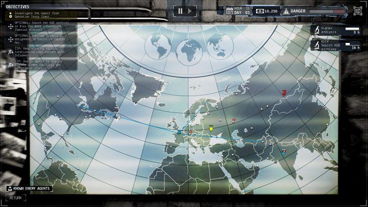 Screenshot de Phantom Doctrine