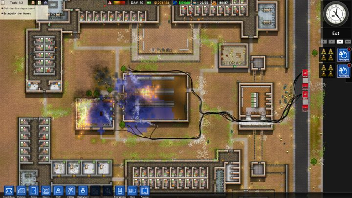 Screenshot de Prison Architect