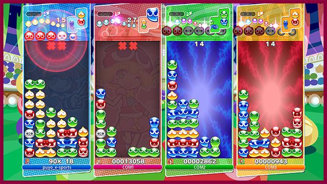 Screenshot de Puyo Puyo Champions