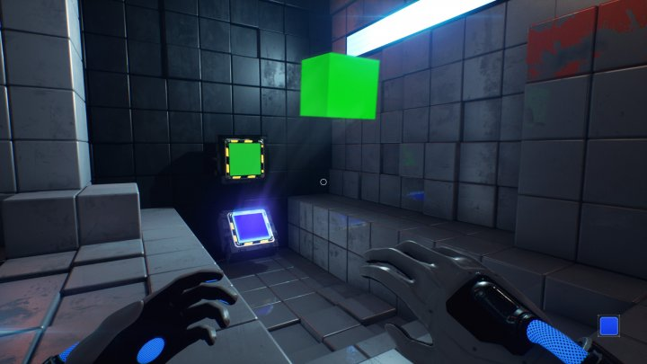 Screenshot de Q.U.B.E. 2