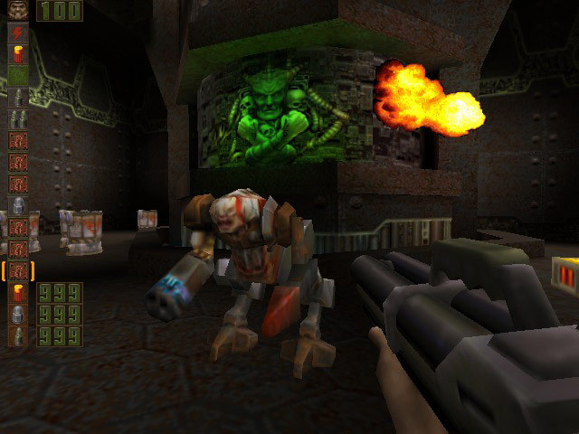 Screenshot de Quake II