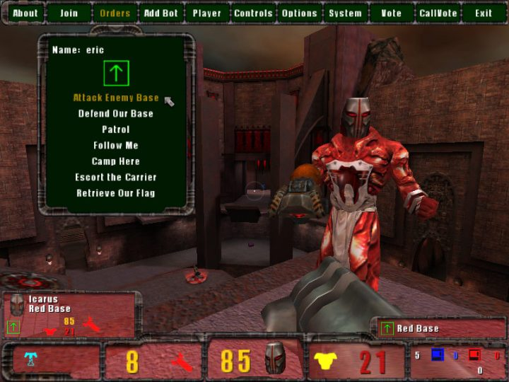 Screenshot de Quake III : Team Arena