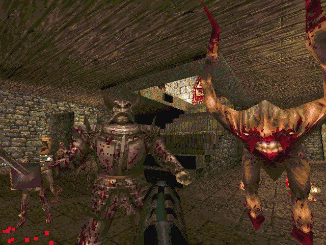 Screenshot de Quake