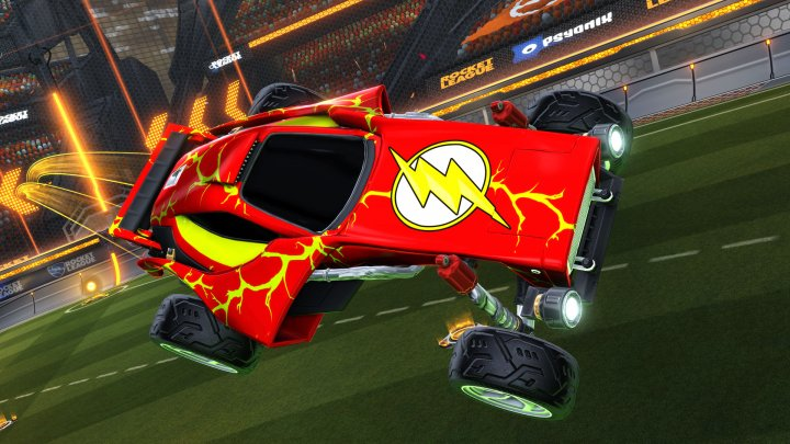 Screenshot de Rocket League  – DC Super Heroes DLC Pack