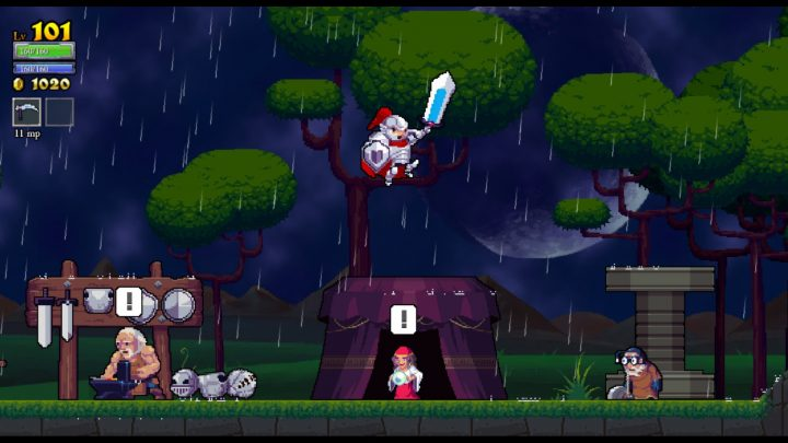 Screenshot de Rogue Legacy