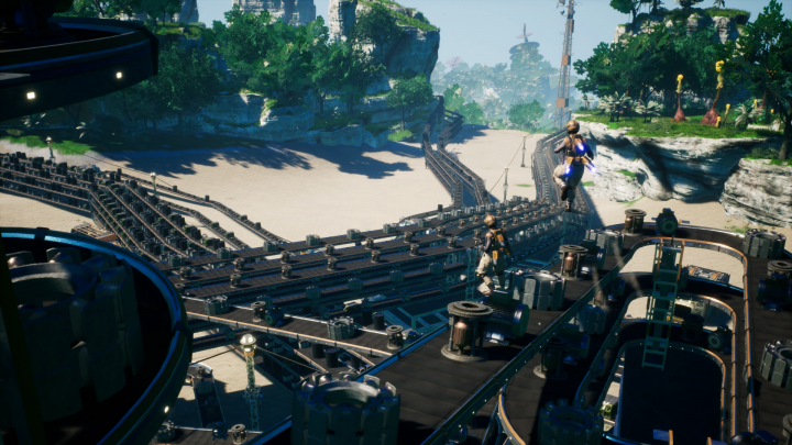 Screenshot de Satisfactory