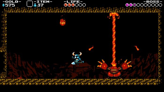 Screenshot de Shovel Knight