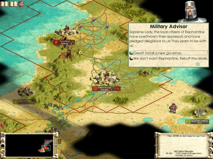 Screenshot de Sid Meier's Civilization III : Play the World
