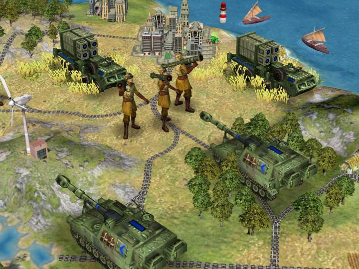 Screenshot de Sid Meier's Civilization IV : Beyond the Sword