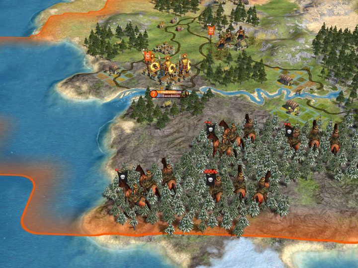 Screenshot de Sid Meier's Civilization IV : Warlords