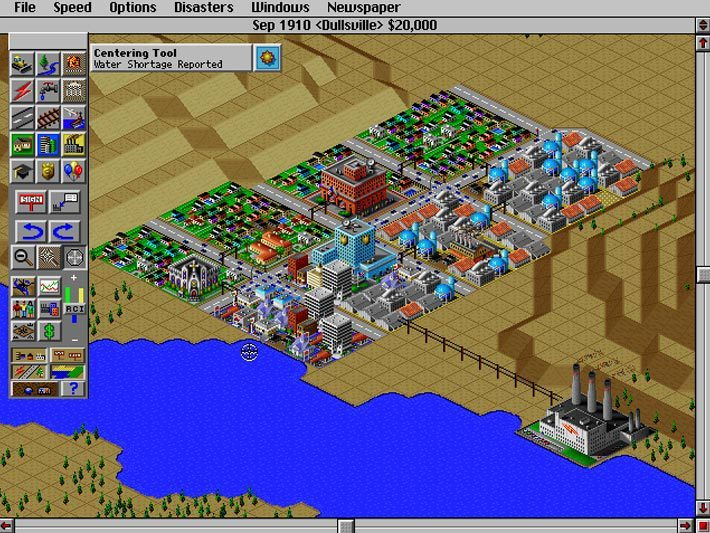 Screenshot de SimCity 2000