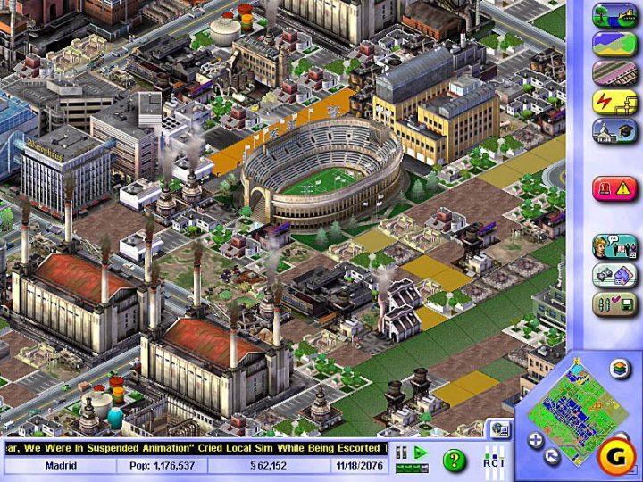 Screenshot de SimCity 3000