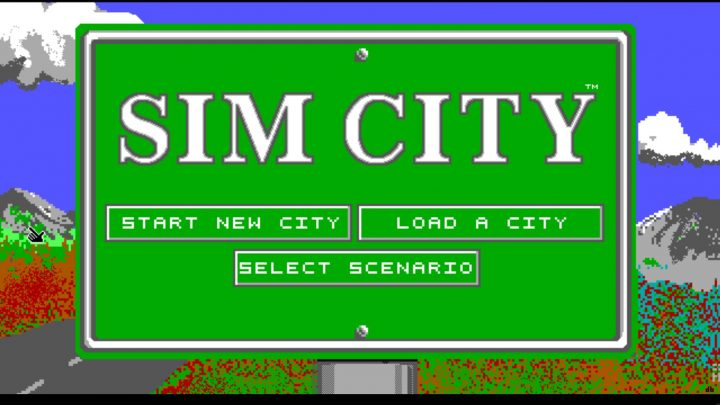 Screenshot de SimCity