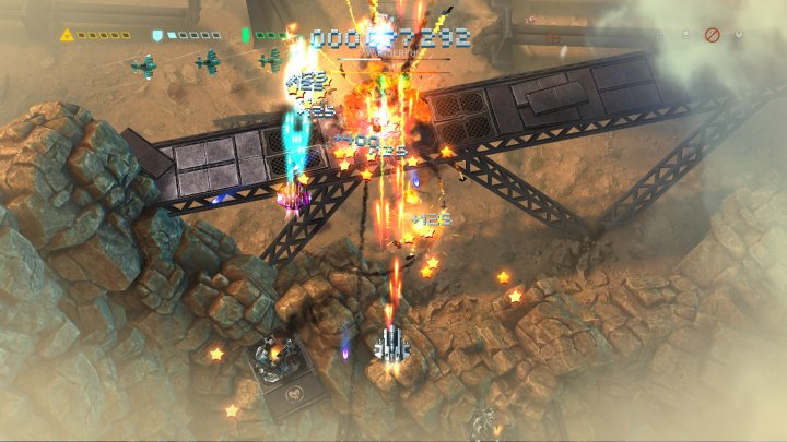 Screenshot de Sky Force Reloaded