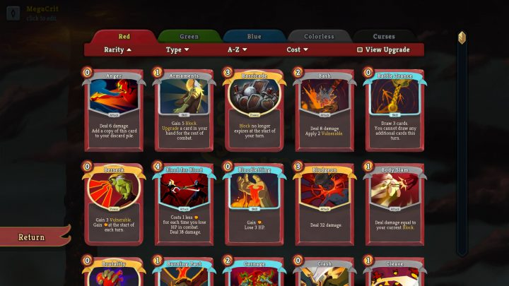Screenshot de Slay the Spire