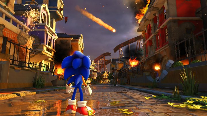 Screenshot de Sonic Forces