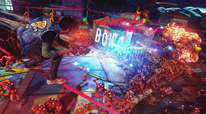 Screenshot de Sunset Overdrive