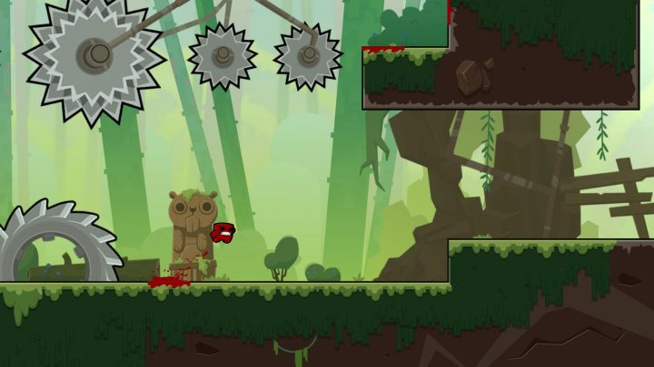 Screenshot de Super Meat Boy Forever