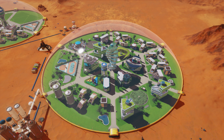 Screenshot de Surviving Mars