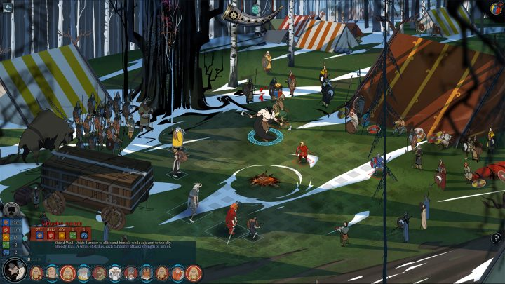 Screenshot de The Banner Saga 2
