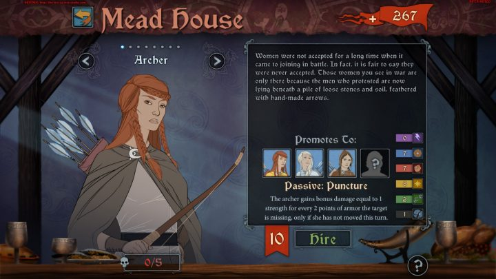 Screenshot de The Banner Saga : Factions