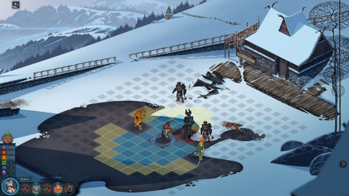 Screenshot de The Banner Saga