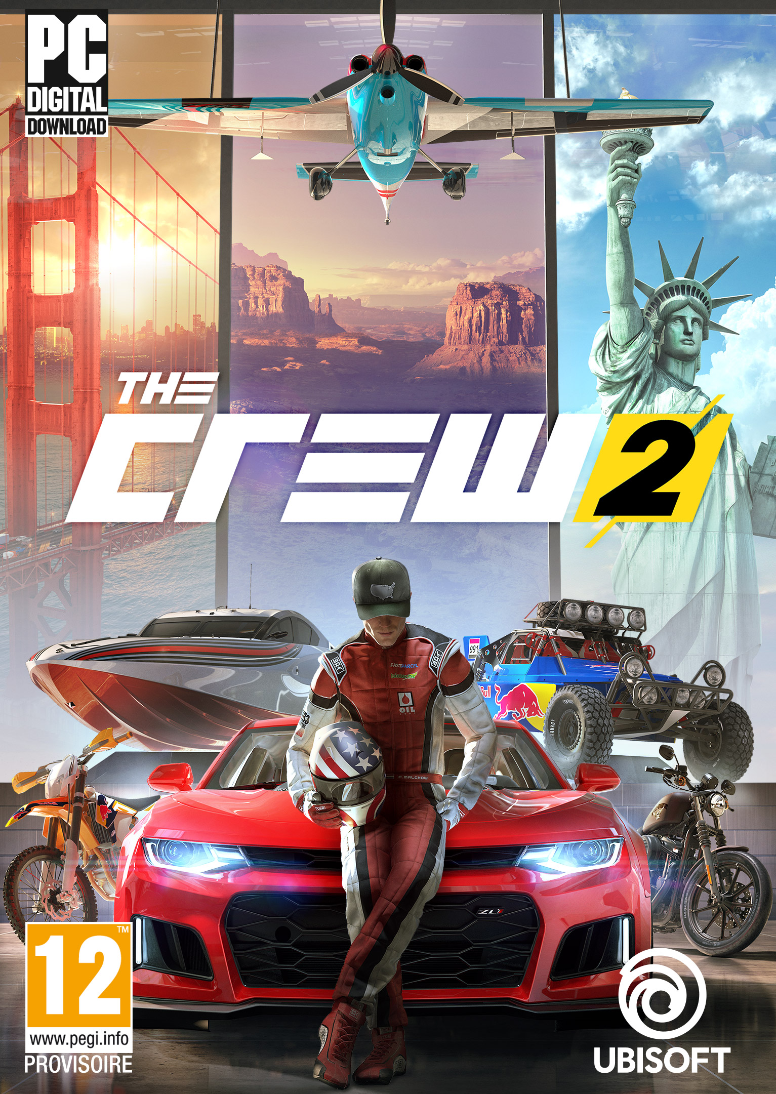 the crew 2 jeu vid o pc sur. Black Bedroom Furniture Sets. Home Design Ideas