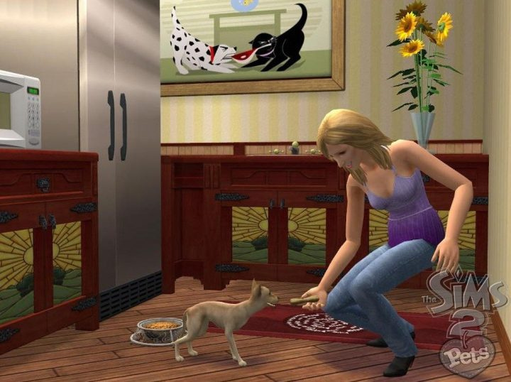 Screenshot de The Sims 2 : Pets