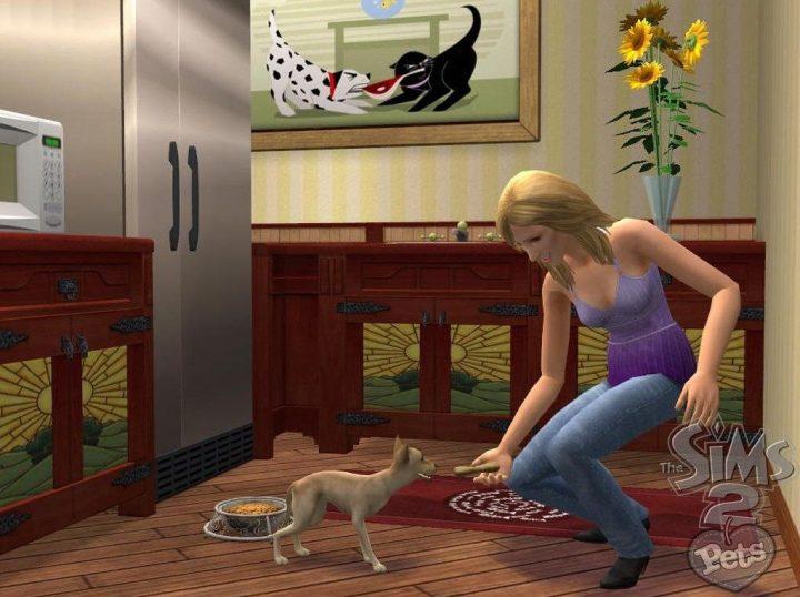 Screenshot de The Sims 2 : Pets