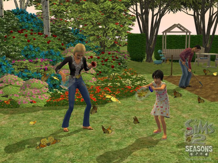 Screenshot de The Sims 2 : Seasons