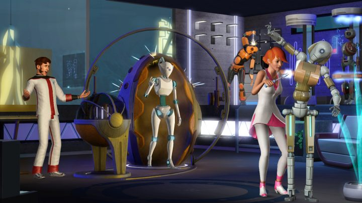 Screenshot de The Sims 3 : Into the Future