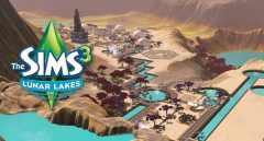 Jaquette de The Sims 3 : Lunar Lakes
