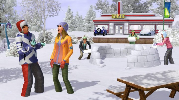 Screenshot de The Sims 3 : Seasons