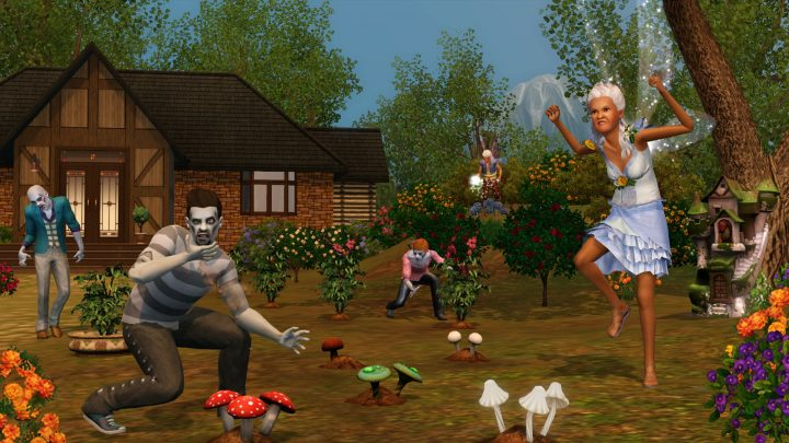 Screenshot de The Sims 3 : Supernatural
