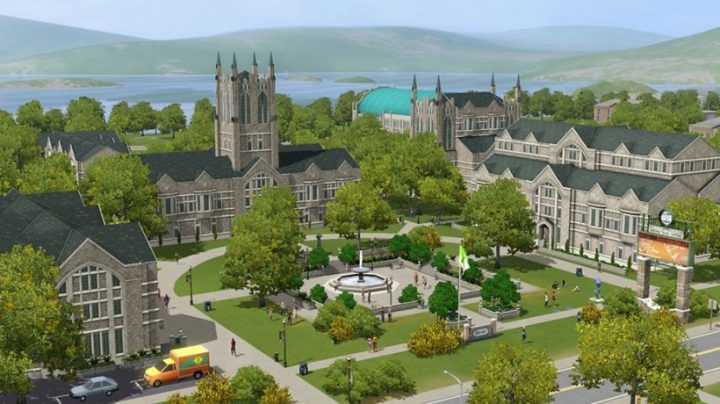 Screenshot de The Sims 3 : University Life