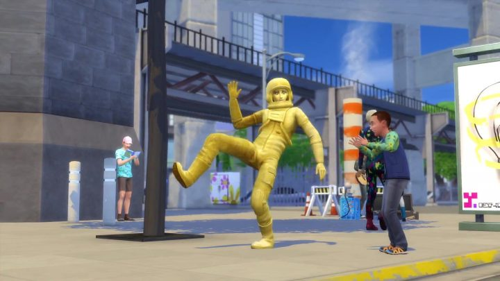 Screenshot de The Sims 4 : City Living