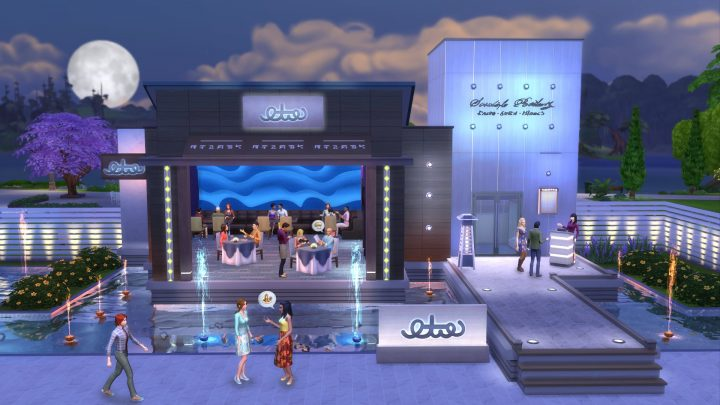 Screenshot de The Sims 4 Dine Out