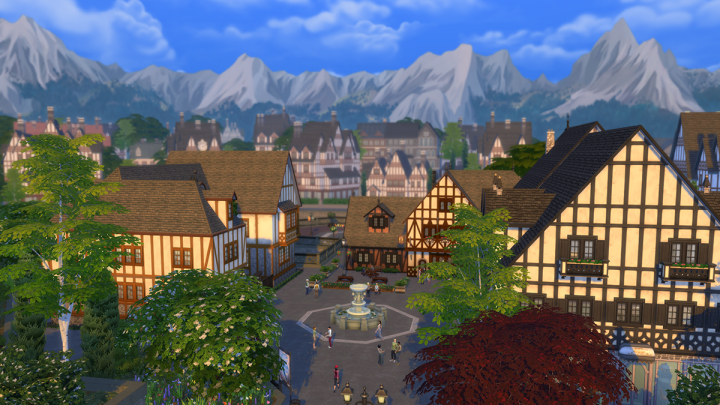 Screenshot de The Sims 4 : Get Together