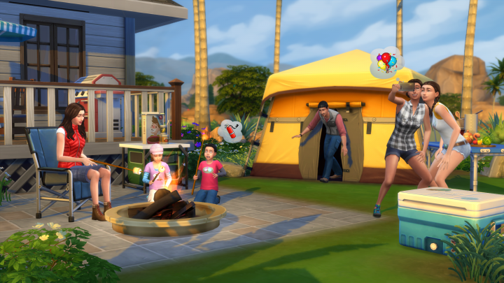 Screenshot de The Sims 4 : Outdoor Retreat